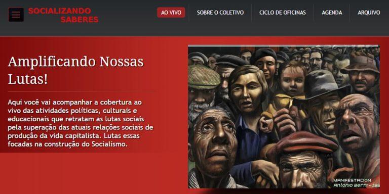 Coletivo Socializando Saberes - amplificando lutas e construindo pontes! Cobertura ao vivo de atividades políticas, culturais e educacionais que retratam lutas sociais.